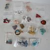 Bag of Beads: Stone, Agate, Wood