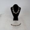 Silver Bracelet & Necklace - Tiffany & Co Makers