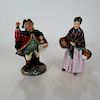 """Royal Doulton: """"Town Crier"""" and """"The Orange Lady"""""""