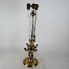 Asian-Style Bronze Table Lamp