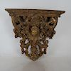 Ornate Gilt Wood Bracket
