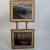 Victor Antonio CARGNEL: Pair Landscape Paintings