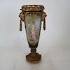 19th C. Sevres Classical Porcelain Vase