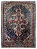 Antique Handmade Signed Carpet