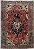 Antique Handmade Kashan Carpet