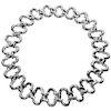 Van Cleef & Arpels 18 Karat White Gold 'Alhambra' Collar Necklace, 1998
