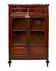 Federal Style Mahogany Cabinet w Marble Top