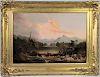 Charles Octavius Cole (1814-1858) Oil on Panel