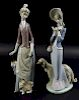 Pair of Lladro Porcelain Figures #1537 & #4761
