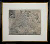 """Map of Virginia, 17th century """"Discovered and Discribed (sic) by Captayn John Smith 1606 Graven by William Hole"""""""