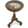 Signed Royal Vienna Porcelain Inset Table