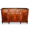 Marquetry and Marble Commode