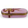 Limoges Porcelain La Gloriette Trinket Box