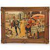 Albert Geudens (Belgium, 1869-1949) Oil on Canvas