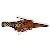 East African Woven Sheathed Dagger