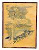 Alfred Birdsey ((Bermuda, 1912 - 1996) Watercolor