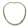 14K Gold & Diamond Chain Necklace