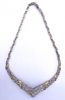 14 KT GOLD & DIAMOND NECKLACE 7CT 28.7 DWT