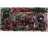Outsider Art, Purvis Young, Untitled