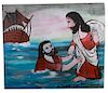 Outsider Art, Anderson Johnson, Jesus Saves