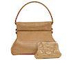 Christian Dior Vintage Gold Handbag