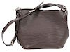 Louis Vuitton Brown Epi Mandara PM Shoulder Bag