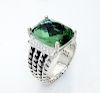 David Yurman Wheaton 16x12mm Prasiolite 0.13tcw Diamond