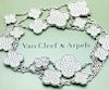 Van Cleef & Arpel 18K Diamond A=Magic Alhambra Necklace