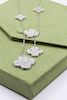 Van Cleef & Arpels Magic Alhambra 18k White Gold 6