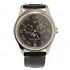PATEK PHILIPPE Swiss Automatic Leather Platinum Watch