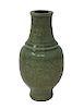 Antique Chinese Celadon Crackleware Vase