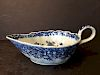 OLD Chinese Blue and White Sauce Boat, 18th century