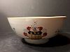 """OLD Chinese Armorial Punch Bowl, 10 1/2"""" x 4 1/2"""" H, 18th century"""
