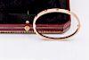 Cartier 18k PAVÉ DIAMOND LOVE BRACELET THIN MODEL