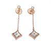 Louis Vuitton 18K Diamond COLOR BLOSSOM BB STAR EAR