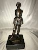 Little Dancer Statue  Edgar Degas Bronze