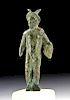 Roman Bronze Figurine of Mars, Messenger of the Gods