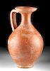 Roman Terra Sigillata Flagon / Pouring Vessel