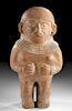 Moche Redware Standing Female Figure