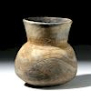 Ancient Thai Ban Chiang Incised Pottery Vessel