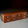 George Nelson (manner), wall-mount jewelry chest