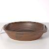 Karen Karnes, glazed stoneware serving bowl