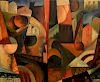 Albert Gleizes Cubist Landscape Painting
