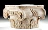 Roman Marble Ionic Capitol, ex-Bonhams