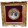 Royal Vienna Style Art Nouveau Painted Beauty Circa 1890