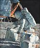 """ALAN BEAN (American/Texas 1932-2018) A PAINTING, """"Load 'Em Up...Move 'Em Out,"""" 1986,"""