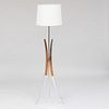 Chrome Floor Lamp, of Recent Manufacture
