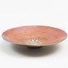Claudius Linossier Patinated Copper Dish