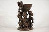 Yoruba Divination Bowl Figure
