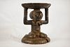 Luba Female Caryatid Stool